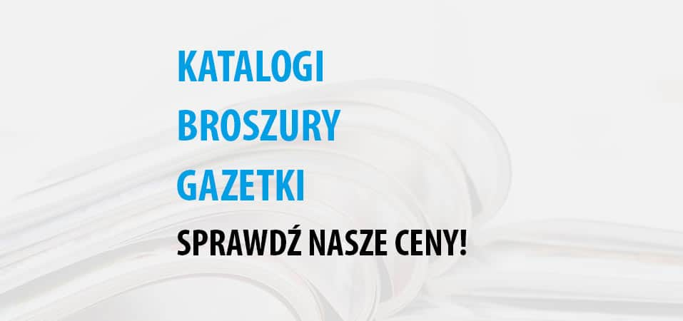 Druk katalogów Kielce