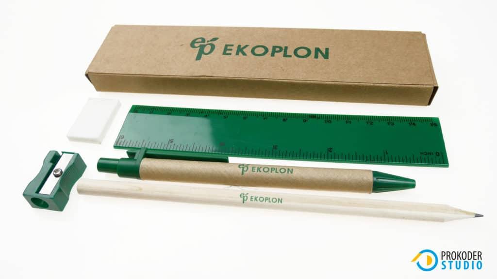 Zestaw biurowy dla firmy Ekoplon
