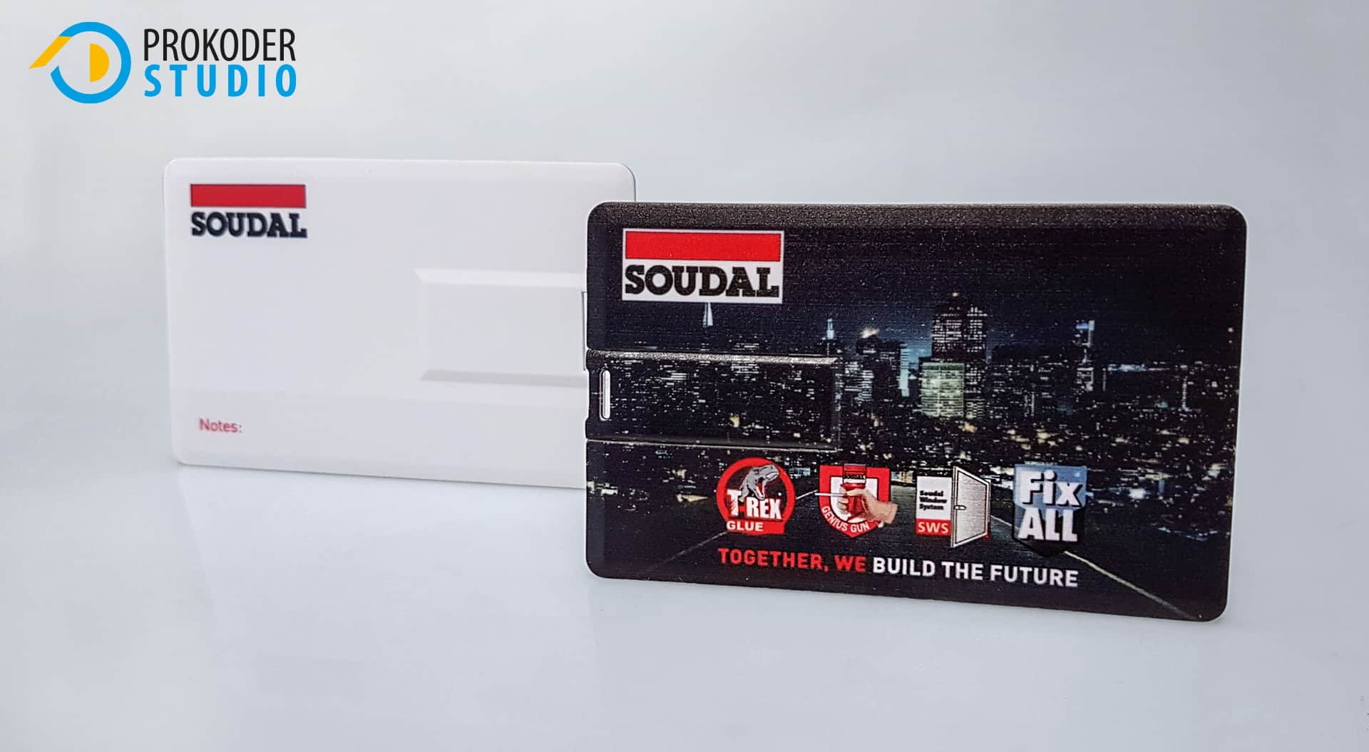 Pendrive zlogo dla firmy SOUDAL
