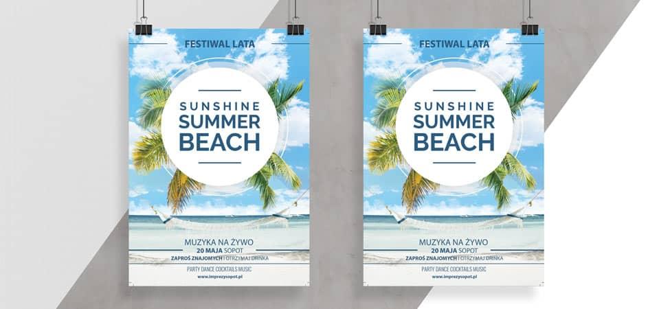 Tani druk plakatów