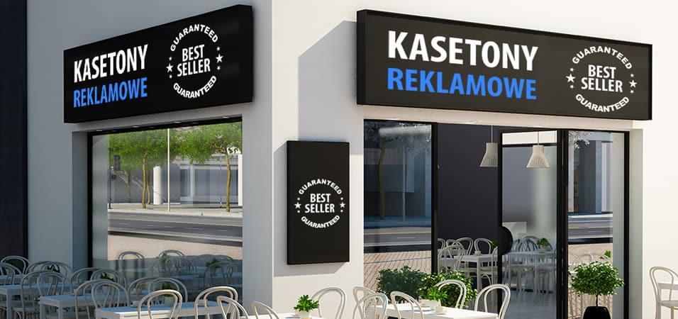 Kasetony Reklamowe Kielce, Szyldy